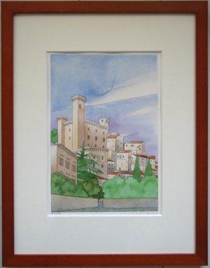 画像1: 湖畔の街 ボルセーナ