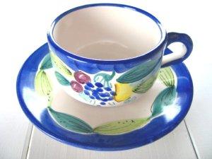 画像1: オーレカップ 花(ブルー)