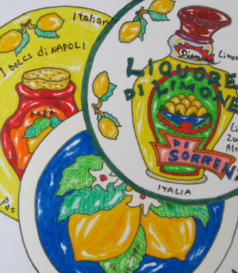 【楽天市場】南 イタリア 食器(皿・プレートの形 …