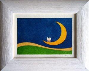画像1: ルーナ・ケ・リーデ 笑う月ーふくろう