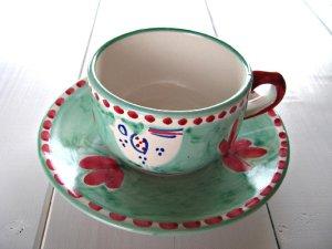 画像1: オーレカップ とりピンクグリーン
