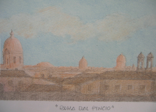 ローマピンチョの丘2